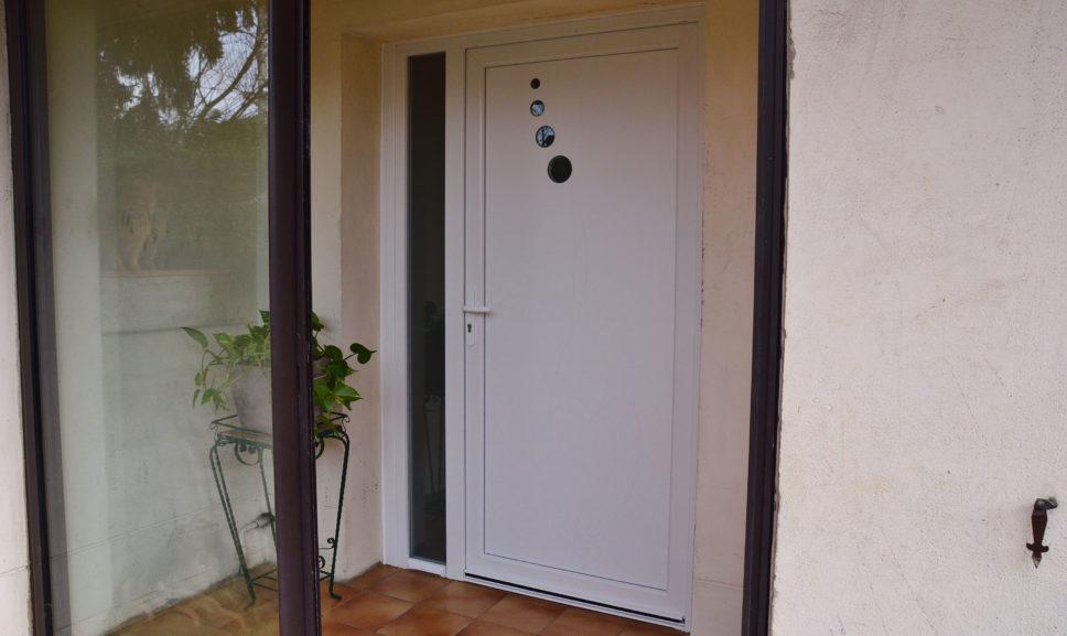 Porte d'entrée design vers Toulouse
